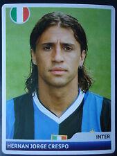 Panini 138 Hernan Jorge Crespo Inter Mailand UEFA CL 2006/07