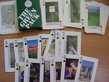 British Army PLAYING CARDS - THE GREEN PACK - SALISBURY PLAIN  Training Area