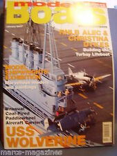 MODEL BOATS JANUARY 2007 USS WOLVERINE TORBAY LIFEBOAT POOTLE CHUNMUGONG YI SUN