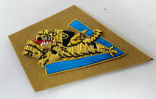 AVG FLYING TIGERS GOLD BULLION SLEEVE BADGE