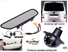 vw transporter t5 camper caravelle california t4 rear reversing camera kit 72