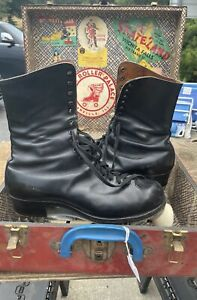 """VINTAGE """"BETTY LYTLE"""" """"STYLED BY HYDE"""" ROLLER SKATES SZ 9.5 Suregrip Plate Mens"""