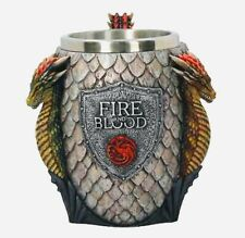 Game of thrones - House Targaryen Tankard / mug - Collectible Dragons Egg Mug