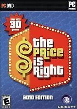 The Price is Right 2010 Edition - PC New Rare