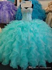 2018 New Real Image Quinceanera dress Pageant Ball Gown Prom Party Formal dress