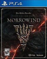 Elder Scrolls Online Morrowind: Playstation 4 NEW SEALED