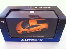 AUTOart Lamborghini Gallardo Superleggera LP570-4 Met Orange 54641 1/43 NOUVEAU