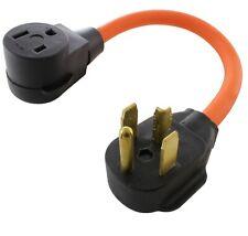 30 Amp NEMA 14-30P to NEMA 6-50R Flexible Welder Plug Adapter by AC WORKS®