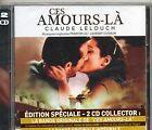 2 CD CES AMOURS LA & UN HOMME ET UNE FEMME FRENCH STICK NEUF SCELLE