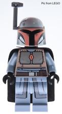 LEGO Star Wars sw1077 Female Mandalorian Warrior Minifigure Sand Blue from 75267