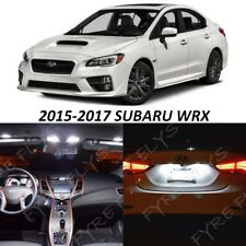 10 White LED Interior lights package kit for 2015 2016 2017 Subaru WRX +Tool SW3
