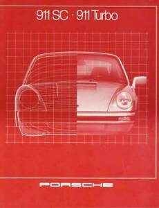 Porsche 911 Turbo 3.3 300 PS 911 SC 3.0 204 PS Prospekt / brochure 1981