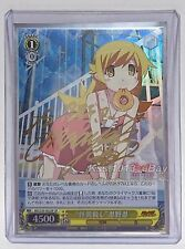 Signed Weiss Schwarz Monogatari Series 2nd MG/S39-002SP SP Shinobu Oshino