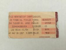 Mike Tyson Pinklon Thomas  On Site Boxing Ticket Stub  May 30  1987