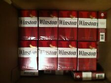 41 Winston Reds Used Empty Cigarette Boxes Packs Tobacco Arts Crafts FREE SHIP
