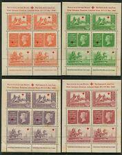 UNITED KINGDOM - 1940 'PENNY BLACK CENTENARY' Set of 4 Cinderellas MNH [B6499]