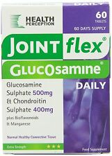 Joint flex daily Glucosamine Sulphate 500mg with Chondroitin 60 Tabs