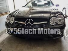 Mercedes R230 SL500 SL600 03~06 Grille Grill Black MESH AMG 1 Fin Style