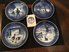 Royal Copenhagen Dated Porcelain Plates
