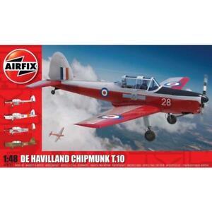 Airfix A04105 1/48 de Havilland Chipmunk T.10 Plastic Model Kit Brand New