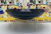 "Fiesta Bowl Centerpiece Presentation Pasta Salad Black 11 3/4"""