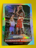 DOMINIQUE WILKINS 2015-16 Prizm Silver SP Parallel Atlanta Hawks Georgia HOF