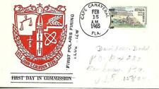 JOHN C CALHOUN (SSBN-630) 15 Feb 1965 1st Polaris Firing Blue Crew
