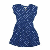 Billie & Blossom Women's Mini Dress 12 Blue,100% - viscose