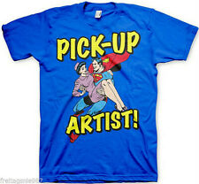 SUPERMAN PICK-UP  T-Shirt  camiseta cotton officially licensed