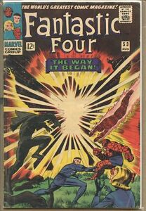 Fantastic Four 1961 series # 53 very good comic book