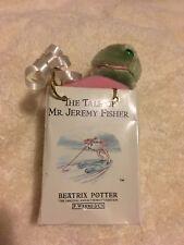Tale Of Mr. Jeremy Fisher Mini Plush Frog Beatrix Potter Vintage 1987