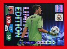 CHAMPIONS LEAGUE 2013-14 Panini - XXL Card Limited Edition -CASILLAS REAL MADRID