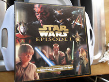 Star Wars Episode 1 Customizable Trading Card Game 160 Cards Dark Side v Light S