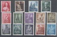 SPAIN AÑO 1954 NUEVO MNH ESPAÑA - EDIFIL (1129/42) COMPLETO SIN FIJASELLOS