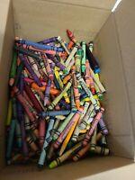 Vintage Crayola & Other Brand Crayons Bulk Estate Lot Good Condition