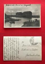 Foto AK DANZIG Neufahrwasser 1937 Hafen mit Schiffen   ( 51005