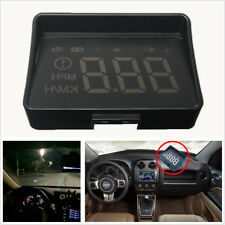 """3.5"""" LED HUD Head Up Display Car OBD2 Driving Computer Speed Projector Universal"""