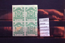 STAMPS NORTH BORNEO BLOCK OF 4 YVERT N°41 IMPERF. MNH** (F118407)