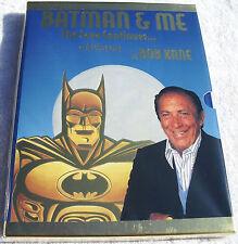 Batman & Me Ltd Gold Slipcase Ed. Hardcover Rare HC Signed w/ COA by Bob Kane