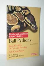 Ball Pythons Pitone Facts & Advice on Care and Breeding Guide Barron's KJ1 56498