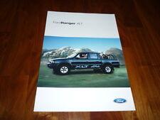 Ford Ranger XLT folleto 05/2002