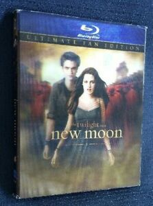 Twilight The New Moon Ultimate Fan Edition Blu-Ray with disappearing dudes cover