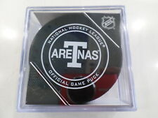 2017-2018  TORONTO MAPLE LEAFS Official Game Puck ARENAS
