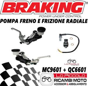 APRILIA RSV RSV4 1000 MC9601 +QC6601 Pump Brake & Clutch Radial BRAKING