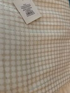 Threshold Honeycomb Woven Light Filtering Curtain Panel Beige 95 L New