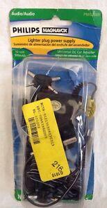 NEW!! Universal Philips Magnavox DC 12 Car Adapters 500 mAh 12 Volt  #PM62069