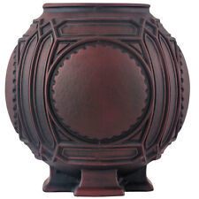 "Frank Lloyd Wright Ceramic Urn - 8"" Diameter - American Art Pottery"