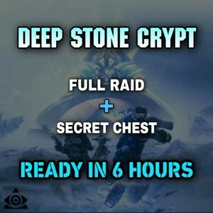 Deep Stone Crypt + Secrets chest [ GUARANTEED | Xbox |