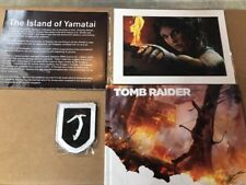 Tomb Raider Collectors Edition items patch litho poster Artbook