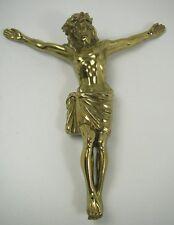 Jesus Figur Messing Kreuzfigur groß Zubehör Sammler religiös Christusfigur